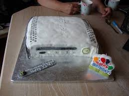 xbox birthday cake pic fatty cooking