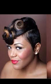 hairstyles pin curls pin curls for short hair hair swag pinterest pin curls short