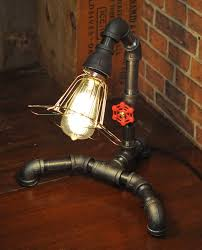 industrial pipe light fixture 23 awesome plumbing pipe furniture designs