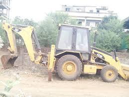 jcb backhoe loader 424 b caterpillar make for sell near nagpur