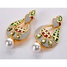 kanphool earrings pin by craftdunia on kanphool indian