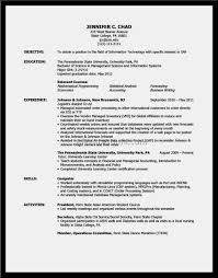 Resume Sample Relevant Coursework by Perfect Sample Resume U2013 Resume Template For Free