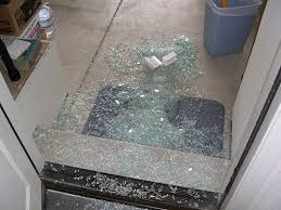 Shattering Shower Doors Ge Tempered Fridge Glass Shelf Explosion
