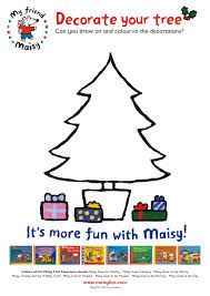 decorate a christmas tree with maisy scholastic kids u0027 club