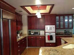 cherry wood kitchen cabinets photos cherry wood kitchen cabinets resurfacing project included