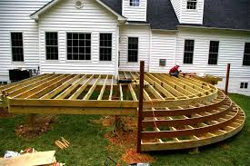 Backyard Deck Design Ideas Backyard Deck Design Photos Cement Patio And