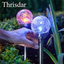 Glass Globes For Garden Compare Prices On Glass Garden Stake Online Shopping Buy Low