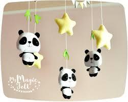 chambre bébé panda bébé panda mobile et des étoiles de lit mobile chambre