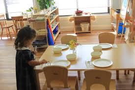 Setting The Table by Setting The Table For Lunch Montessori North Montessori