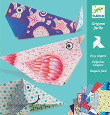 djeco paper easy animal origami fun paper modelling construction