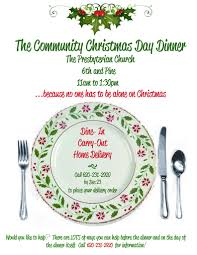 holiday lunch invitation giving back this holiday season