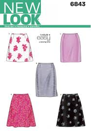 land pattern en francais new look sewing pattern 6843 fabric land