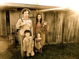 family theme halloween costumes ingalls family costumes