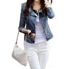 denim motorcycle jacket online get cheap jean motorcycle jacket women aliexpress com