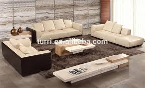 centre table for living room luxury furniture modern beige travertine living room center table