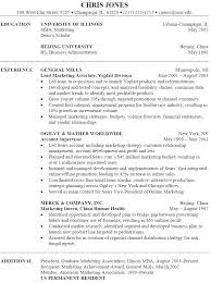 Best Sales Resume Format by Resume Format For Marketing Job Resume Format