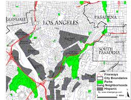Map Of Los Angeles Beach Cities by Los Angeles County Gang Territory Map Streetgangs Com