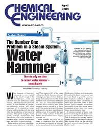 waterhammer pdf shock wave steam