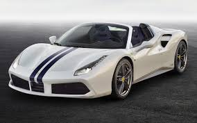 ferrari 488 wallpaper ferrari 488 spider the white spider 2017 wallpapers and hd