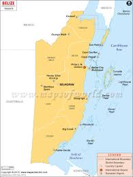 south america map belize airports in belize belize airports map