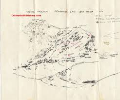 Colorado Ski Areas Map by Arapahoe East Ski Area