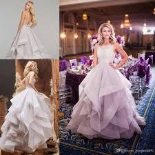 princess wedding dresses uk discount 2017 light purple sparkly beaded princess