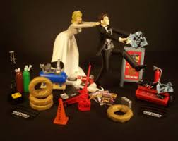 mechanic cake topper garage decor etsy