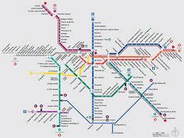 Plano Map Map Of São Paulo Commuter Rail Stations U0026 Lines