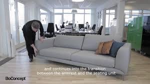 boconcept fargo sofa designed by anders nørgaard youtube