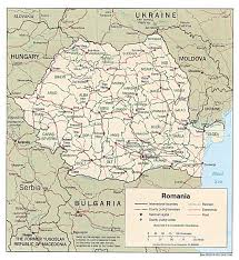 Romania Map Maps Of Romania Detailed Map Of Romania In English Tourist Map