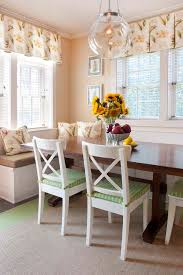 bright breakfast nook bench decoration ideas for dining room farmhouse