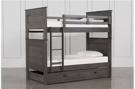 White Bunk Bed With Trundle Bunk Beds And Loft Beds For Your Kids Room Living Spaces