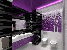 bathroom color designs fantastic glossy modern bathroom interior design for purple color
