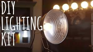 low budget lighting kit need to learn how to light a video on a budget you can put together