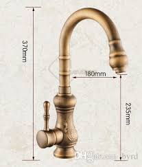 Kitchen Faucets Bronze Discount Antique Brass Kitchen Faucet Bronze Finish Water Tap