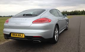 lowered cars and speed bumps porsche panamera diesel 2014 review expert reviews