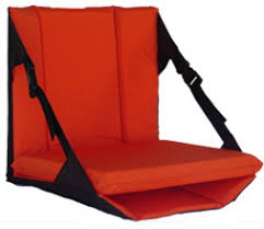comfortable padded bleacher chairs with back
