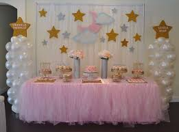 baby shower themes appealing decorating with tulle for baby shower 14 for baby shower
