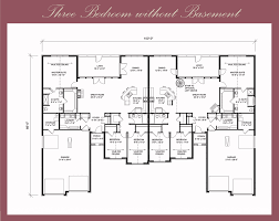Floor Design by 225 S River Rd 3 Bedroom Floor Plans Place Three Bedroom Floor