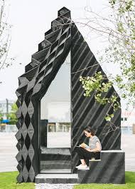 Urban Garden Amsterdam Dus Architects Constructs 3d Printed U201curban Cabin U201d In Amsterdam