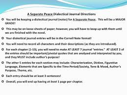 a separate peace summary lesson plans activities character ma