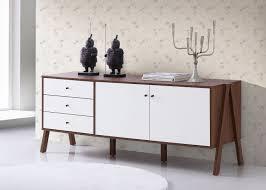 mid century modern storage cabinet baxton studio harlow mid century modern scandinavian style white and
