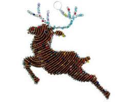 reindeer ornament etsy