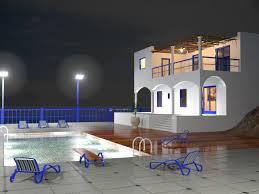 3d max home design tutorial 3ds max design tutorials lighting and rendering the villa at night