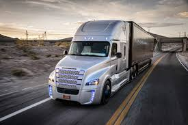 autonomous freightliner inspiration truck gets its own license