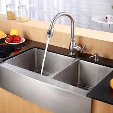 Kitchen Large Double Bowl Undermount Stainless Steel Sinks With - Single or double bowl kitchen sink