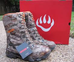 mens wolverine archer thinsulate waterproof camo hunting boots