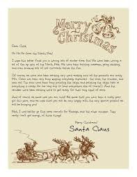 easy free letter from santa magical package letters santa and