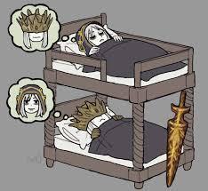 Cartoon Bunk Bed by Bunk Bed Princes By Emlan On Deviantart