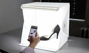Box For Lights Up To 46 On Mini Portable Photo Box Groupon Goods